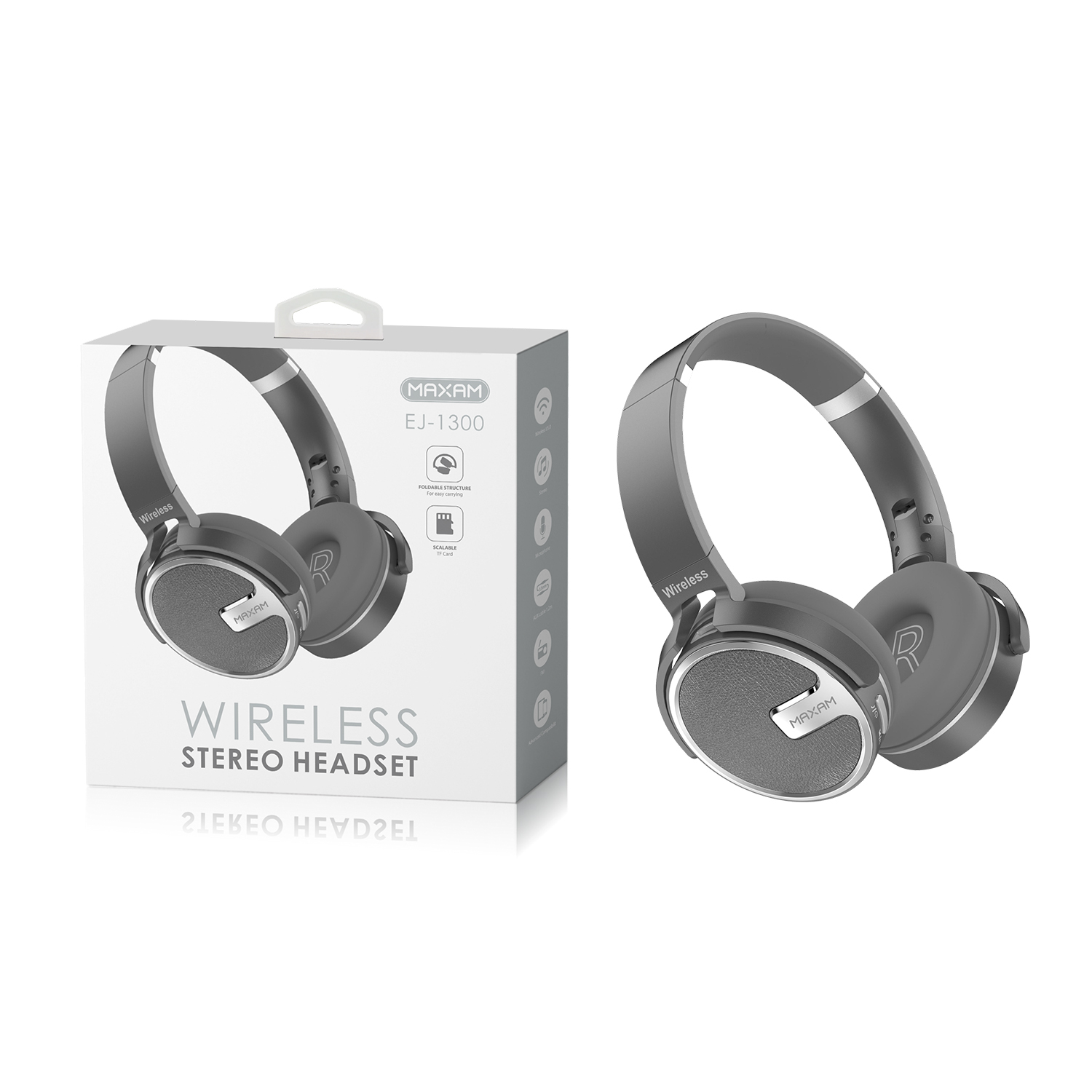 EJ-1300Black Wireless stereo